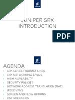 Juniper SRX Introduction