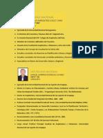 POR LA UNIDAD NACIONAL Y EL GRAN CAMBIO DE NUESTRO COLEGIO DE ARQUITECTOS DEL PERU