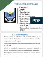 JDBC Chapter 1
