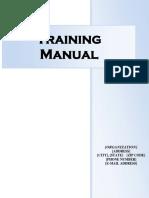 training manual - template