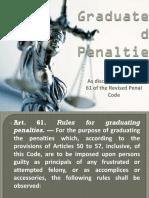 Graduated Penalties
