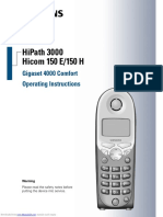 Siemens Hi com 150e User Manual