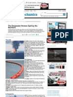 BP Oil Spill Statistics - Deepwater Horizon Gulf Spill Numbers - Popular Mechanics