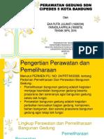 Manajemen Perawatan Gedung - Eka, Faradila.pptx