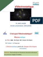 0 Rappels Mathématiques - Interractions Entre Charges Au Repos (1)