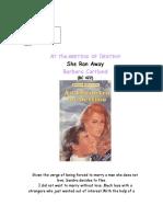 Barbara Cartland - She Ran Awayc.doc