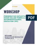 Modul Pelatihan IPE Terintegrasi (Denpasar 2019