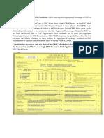 Conversion certifiate CBCE,ICSE