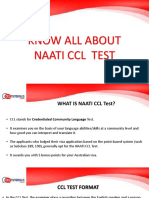 Know All About Naati CCL Test