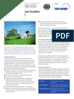 EM 003 - ISO 14001 Lead Auditor Training (IRCA)