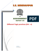 Preparing a report on different Yogic practices.pdf