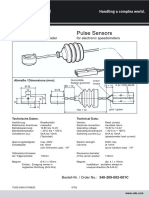 Speed sensors and accessories.