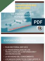 EL PROGRAMA DE SUPERVISIÓN ppt