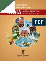 India Tourism Statistics at a Glance 2019 (1).pdf