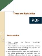 14trust n reliability