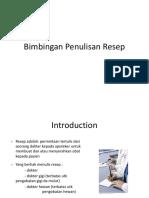 Bimbingan Penulisan Resep.pptx