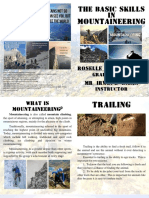 The Basic Skills in Mountaineering