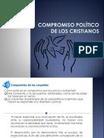 Compromiso político de los cristianos