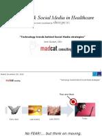Jordi Guitart Innovation & Social Media in Healthcare - 18 Nov. 2010