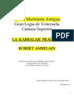Cábala Práctica, La - Ambelain I.doc