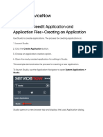 Creating an Application _ ServiceNow Developers