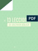 13 Lecciones de Doctrina Bíblica
