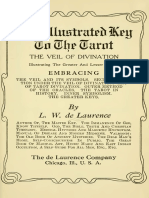 1918 de laurence illustrated key to the tarot