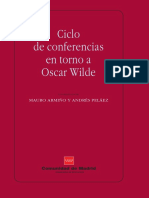 CONFERENCIAS EN TORNO A OSCAR WILDE