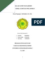 makalah kertas kerja audit