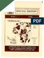 CALL 93-1 Somalia