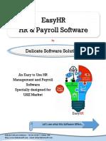 HR Software for UAE - Best Payroll System