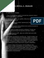 Saúde Mental e Trabalho - ADAILTON GOMES DASSUNÇÃO