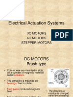 (2) Electrical Actuation Systems-Part 2