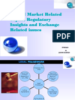 Capital Market Regulatory Insight - P.S.rao & Associates