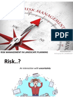 Risk Management in Landscape Planning