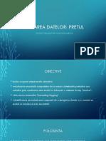 Schimbarea datelor - Proiect Informatica
