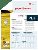 Afico Quiet Liner