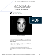Elon Musks 3-Step First Principles Thinking_ How to Think and Solve Difficult Problems Like a…