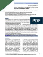 Trauma care protocol paper