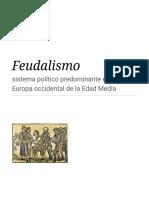 Feudalismo - Wikipedia, la enciclopedia libre
