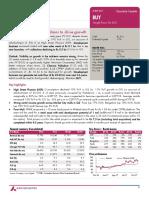 PhoenixMills stock recommendations