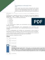 APOL 1 - ASPECTOS BIOLOGICOS