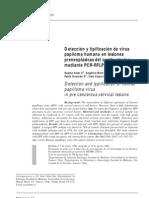Detección y tipificación de virus