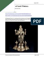 10 Avtaars of Lord Vishnu
