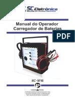 Manual carregador de Baterias SC-1215 (2)