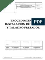 Procedimiento de Instalacion de Torno