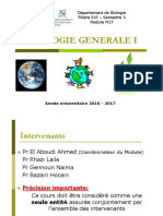 ecologie generale I
