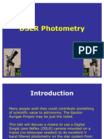 DSLR Photometry