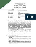PLAN DE TUTORIA-5° D-NOEMI-2019