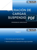 DOCUMENTOS Y SEGURIDAD CARGA SUSPENDIDA